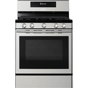 Samsung 5.8 cu. ft. Freestanding Stainless Steel Gas Range with Convection