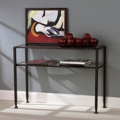SEI Metal Sofa Table