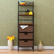 SEI Manilla 3 Drawer Baker's Rack