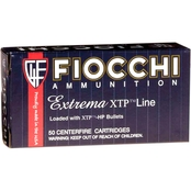 Fiocchi Extrema 9mm 124 Gr. XTP, 25 Rounds