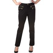 Michael Kors Plus Size Straight Leg Zip Pocket Pants