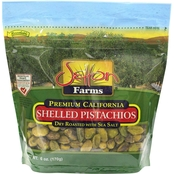 Setton Farms Shelled Pistachios Dry Roasted/Sea Salt 6 oz. Resealable Bag