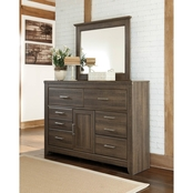 Ashley Juararo 6 Drawer Dresser and Mirror Set