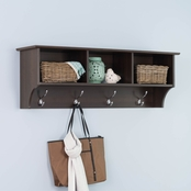 Prepac 48 In. Hanging Entryway Shelf