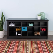 Prepac Shoe Storage Cubbie Bench