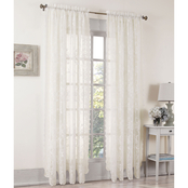 S. Lichtenberg Alison Lace Curtain Panel and Valance