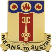 Army 35th Support Battalion Unit Crest