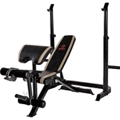 Marcy 2 pc. Mid Width Strength Bench, MD-879