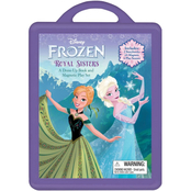 Disney Frozen Dress-Up Book and Magnetic Play Set