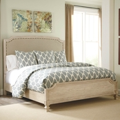 Ashley Demarlos King Panel Bed