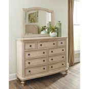 Ashley Demarlos Dresser and Mirror
