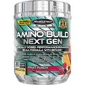 MuscleTech Amino Build Next Gen Fruit Punch, 30 Servings