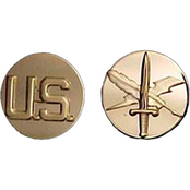 Army Enlisted Public Affairs Branch Collar Device Set