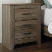 Ashley Zelen 2 Drawer Nightstand