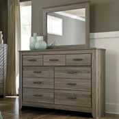 Ashley Zelen Dresser And Mirror