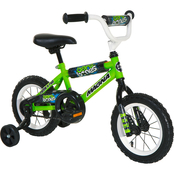 Dynacraft Boys 12 in. Bare Bones BMX Sidewalk Bike