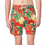 Caribbean Joe Swimwear Hibiscus Trunks