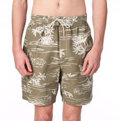 Caribbean Joe Swimwear Island Tropical Trunks