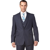 Kenneth Cole Reaction Big & Tall Slim Fit Notch Lapel Suited Separate Coat