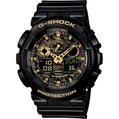 Casio Men's Camo Dial Watch GA100CF-1A9CR