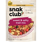 Snak Club Sweet Salty Trail Mix Family Size 14 oz.
