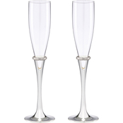 Lenox Devotion Crystal 2 pc. Toasting Flute Set