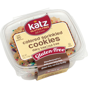 Katz Gluten Free Colored Sprinkle Cookies 4 pk.