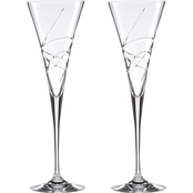 Lenox Adorn Crystal 2 pc. Toasting Flute Set