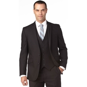 Kenneth Cole Big & Tall Reaction Regular Fit Notch Lapel Suited Separate Coat