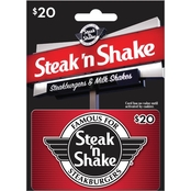 Steak 'n Shake $20 Gift Card