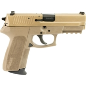 Sig Sauer SP2022 9mm 3.9 in. Barrel 15 Rnd 2 Mag NS Pistol Flat Dark Earth