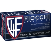 Fiocchi 9mm 124 Gr. FMJ, 50 Rounds