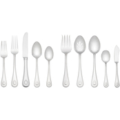 Lenox French Perle Stainless Steel 65 pc. Flatware Set