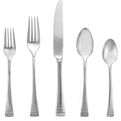 Lenox Federal Platinum Stainless Steel  5 pc. Flatware Place Setting