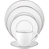 Lenox Continental Dining Platinum 5 pc. Dinnerware Place Setting