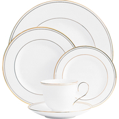 Lenox Federal Gold Bone China 5 pc. Place Setting