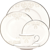 Lenox Opal Innocence Scroll 5 pc. Dinnerware Place Setting