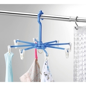 Whitmor Clip & Drip Hangers With 8 Clips