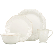 Lenox French Perle White 4 pc. Place Setting