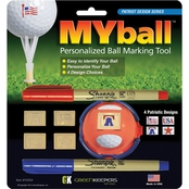 Green Keepers, Inc. My Ball Personalized Ball Marking Tool