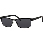 Fossil Metal Rectangle Polarized Sunglasses 3000PS