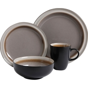 Gibson Central Ridge 16 pc. Dinnerware Set