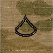 Army Rank Private First Class Velcro (OCP)