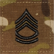Army Rank Sergeant First Class SFC Velcro (OCP)