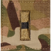 Army Rank Officer Chief Warrant Officer CW1 Velcro (OCP)