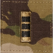 Army Rank Officer Chief Warrant Officer CW3 Velcro (OCP)