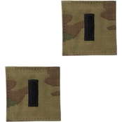 Army First Lieutenant Rank O-2 Tab Velcro (OCP)