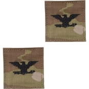 Army Colonel Rank O-6 Tab Velcro (OCP)