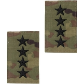 Army General Rank O-10 Tab Velcro (OCP)