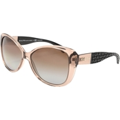 Ralph Lauren Logo Butterfly Sunglasses